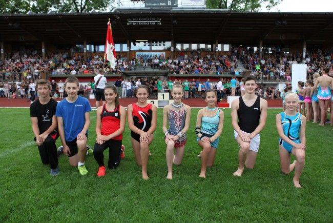 Sportlicher Nachwuchs glänzt beim 69. Landesturnfest