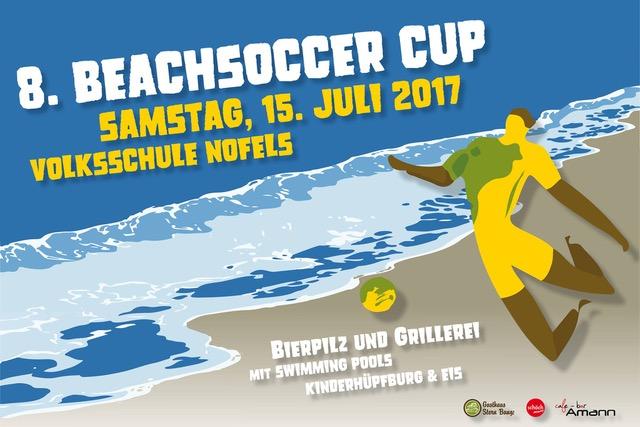 Melde dein Team zum Beachsoccer Cup an!