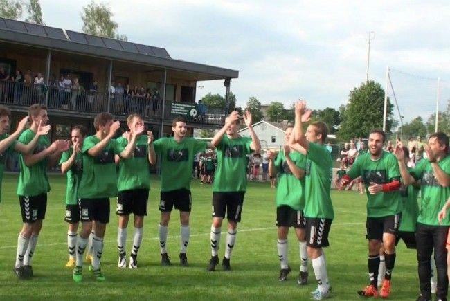 Video! So feiert FC Alberschwende den Aufstieg in die Westliga