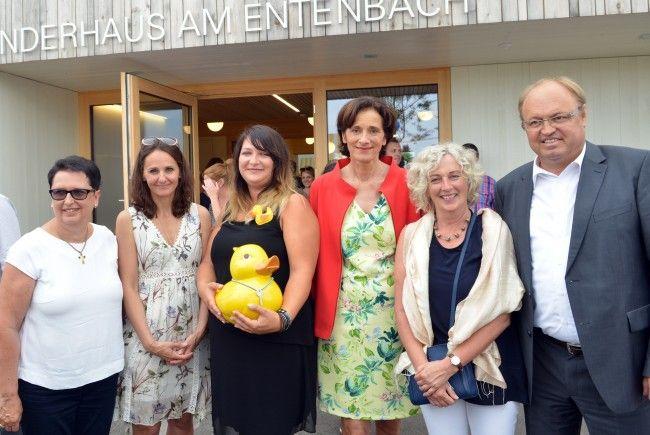 Mit dem Kinderhaus am Entenbach erhält Lauterach bereits die dritte Kinderbetreuungseinrichtung.
