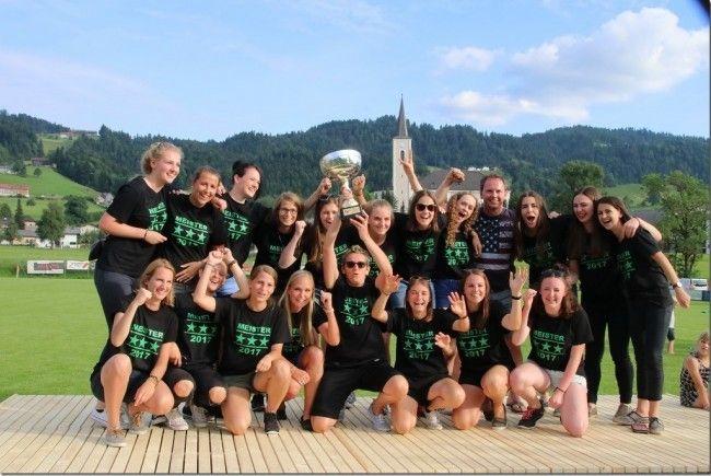 Frauen Vorarlbergliga fest in Alberschwender Hand