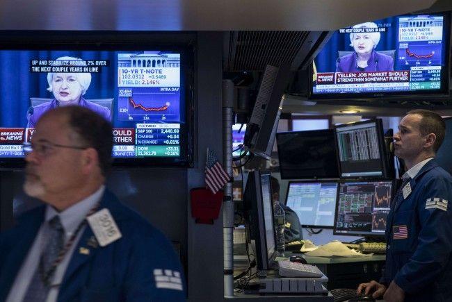 US-Notenbank schraubt Leitzinsen weiter nach oben