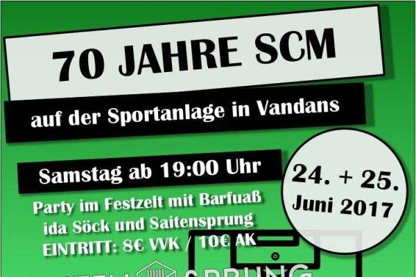 70 Jahre SCM