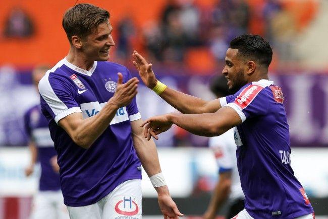 Die Wiener Austria steigt in Runde drei der Europa-League-Qualifikation ein.