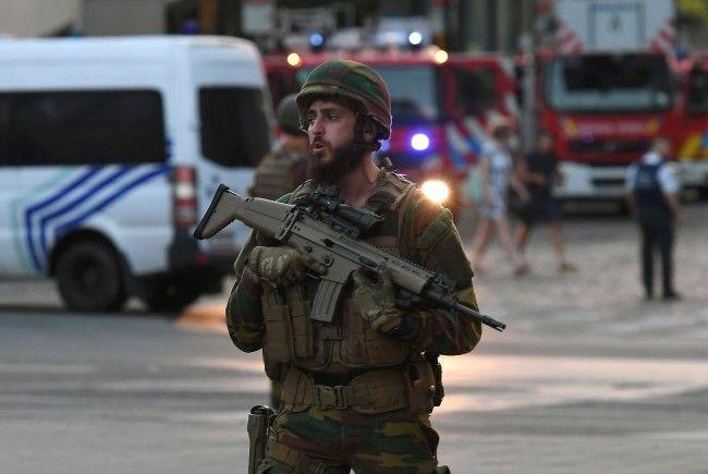 Mutmaßlicher Selbstmordattentäter in Brüssel niedergeschossen
