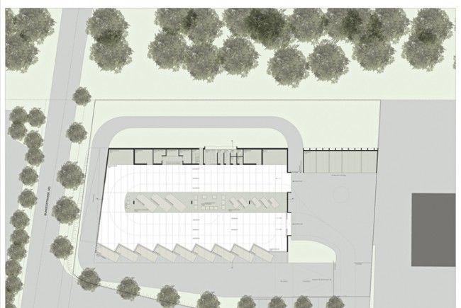 BU: ASZ Vorderland, Stand der Planung. Die endgültige Entwurfsplanung mit kleinen Änderungen wird in Kürze fertiggestellt.