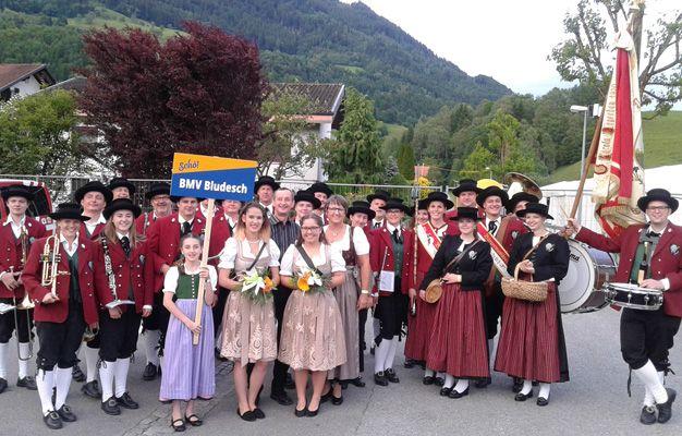 Bezirksmusikfest in Schnifis