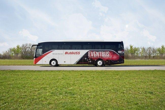 Der Eventbus ist wieder auf Tour - auch Richtung Rolling Stones.