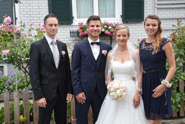 Carina Nagel und Tobias Hämmerle feierten Hochzeit.