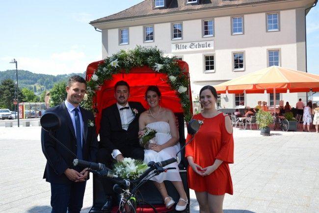 Sandra Küng und Patrick Schmid haben geheiratet
