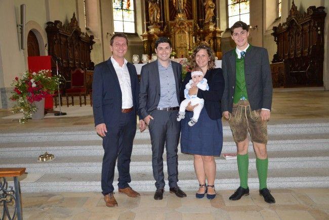 Luisa Elisabeth Ratz empfing die Hl. Taufe