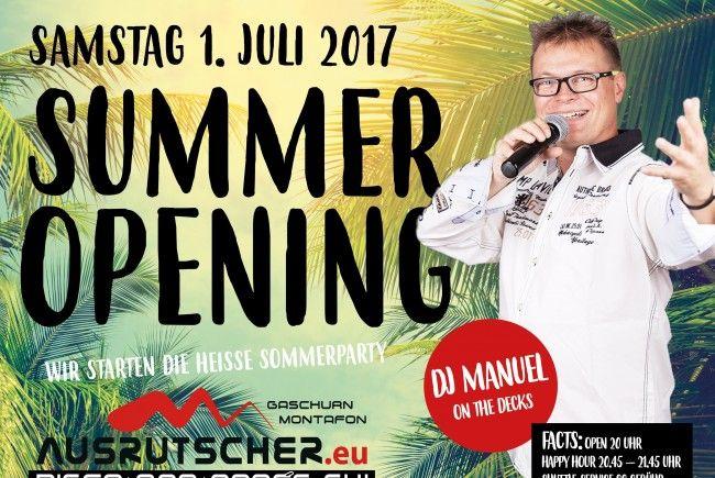 Sommer Opening Ausrutscher ( Nachtlokal ) & Mäck Späck ( Grill - Restaurant )