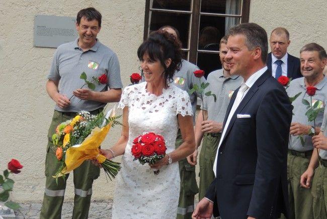 Helga Künzle und  Herbert Scherer