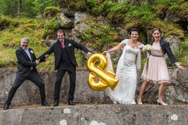 Hochzeit von Sandra und Herbert.
