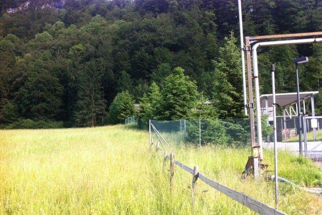 Hier soll die Wälderhalle entstehen.