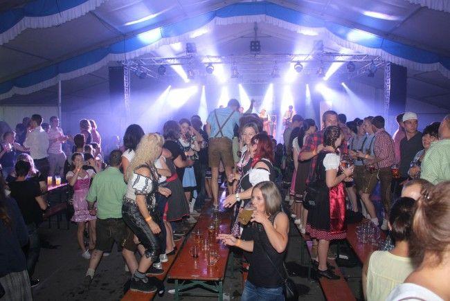 Partymarathon zum Waldfest-Jubiläum