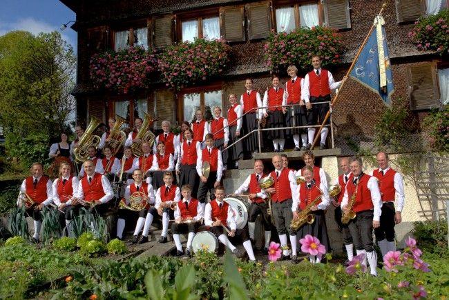 Wettbewerb in Fluh: 2. Platz in Stufe C für den Musikverein Müselbach!