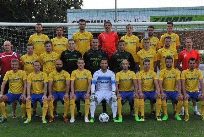 Der ZIMM FC Wolfurt will die Saison mit einem Derbysieg beenden.