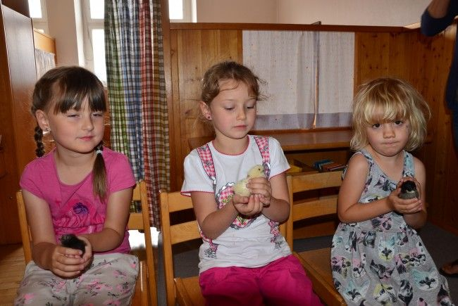 Die Lieblinge im Kindergarten Batschuns