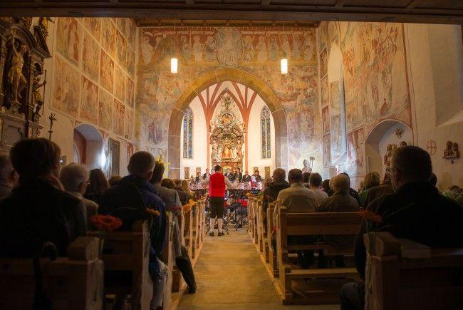 Konzert in der Damülser Pfarrkirche St. Nikolaus