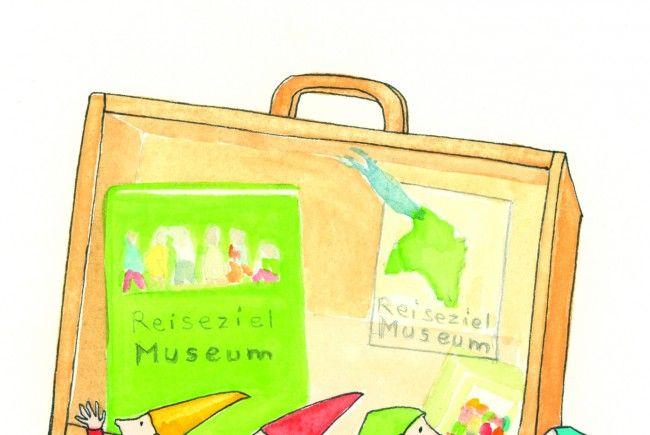 """Reisekoffer fürs """"Reiseziel Museum"""""""