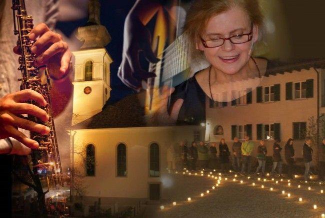 """Einladung zur """"Langen Nacht der Kirchen"""" mit einem vielfältigen Programm in der Lochauer Pfarrkirche Franz Xaver."""