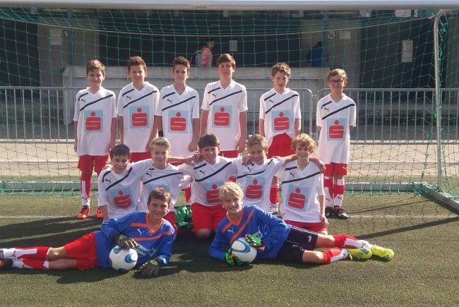 Schülerfußball Mittelschule Klostertal