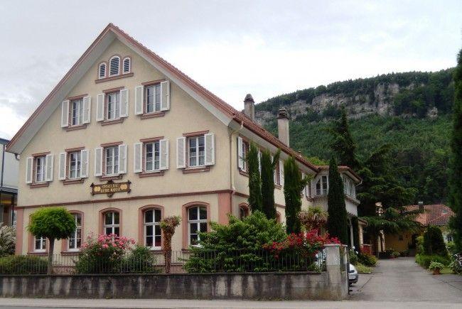 Großhammerzunft Feldkirch besichtigt Orgelbau Gebr. Mayer in Feldkirch