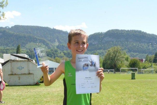 Felix Ender 3. Rang beim Finallauf 600m