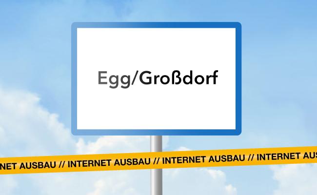 Super schnelles Internet für Egg und Großdorf