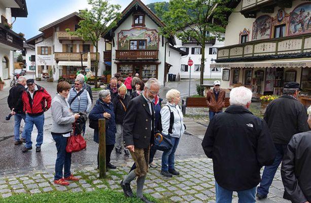Tagesausflug des Pensionistenverbands Partenen nach Mittenwald
