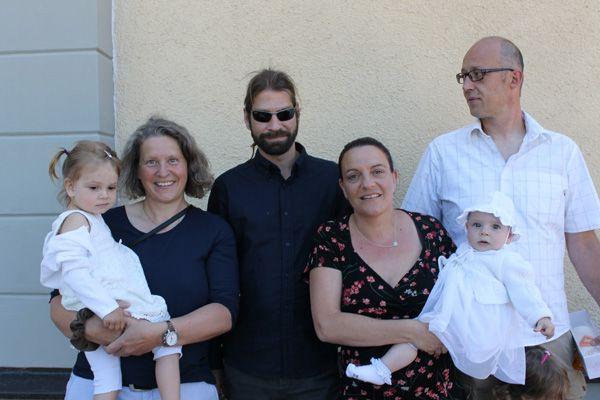 Taufe von Nila Gstach.