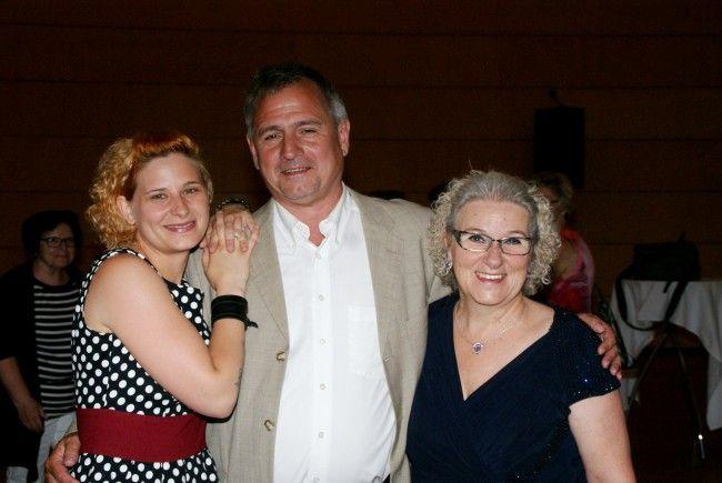 Vera Prantl-Stock, Andreas Kiraly und Aletha Prantl luden zum Konzertabend.