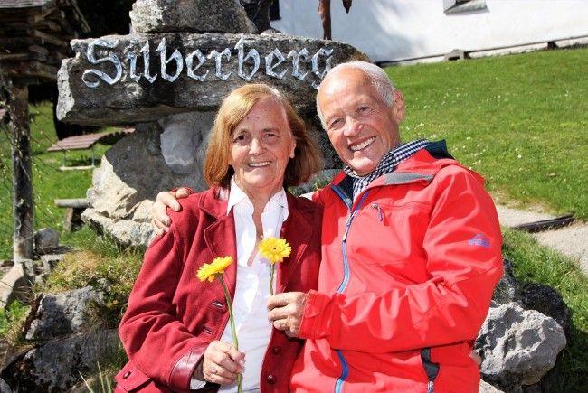 Mit dankbarem Herzen genießen Adolf und Roswitha Zudrell ihr Lebensglück am Silberberg