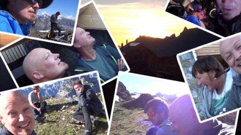 """Mathias """"Alpinfitness"""" Nesensohn - Exkursion in den Glarner Alpen"""