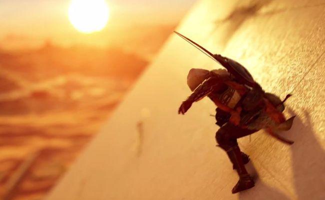 """Eine von vielen auf der E3 vorgestellten Neuerscheinungen: Ubisoft's """"Assassin's Creed: Origins""""."""