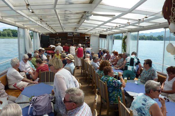 Juniausflug der Nüziger Pensionisten