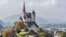 Hangbrand bei Basilika Rankweil