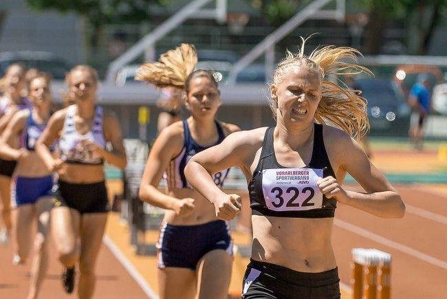 Starke Leistungen der Ländle-Leichtathleten in Lustenau