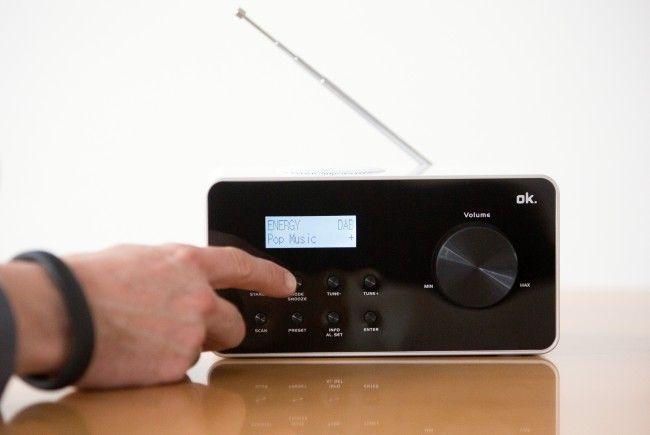 Ein Digitalradioempfänger.
