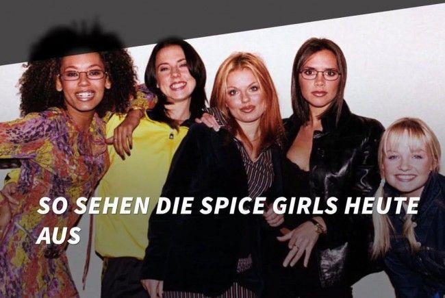 So sehen die Spice Girls heute aus