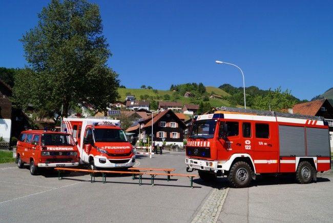 Die Vorbereitungen für das dreitägige Feuerwehrfest am 7. bis 9. Juli laufen in Fraxern auf Hochtouren.
