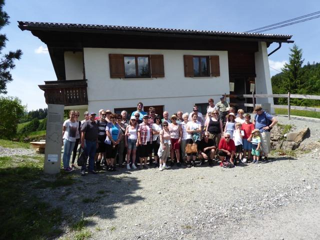 Kulturverein Dafins auf Besuch in Sibratsgfäll