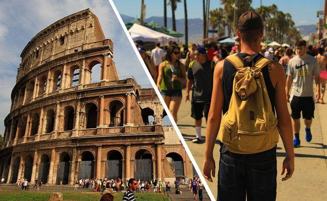 Österreichischer Tourist brach vor Kolosseum zusammen und starb