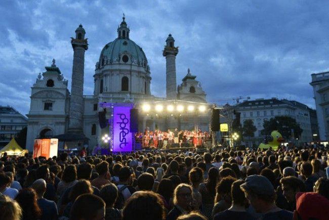 Am Karlsplatz spielt wieder die Musik.