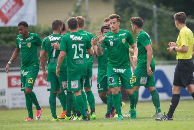 Hard trotzt Austria Lustenau ein 2:2-Remis ab