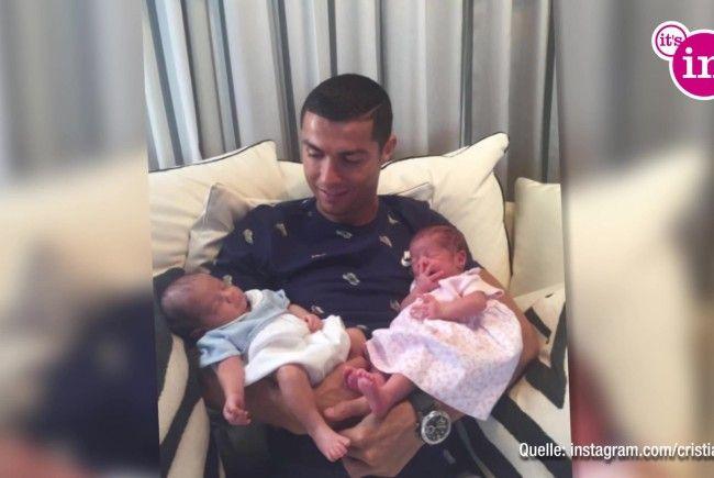 Cristiano Ronaldo – Viertes Kind nach Zwillingen?