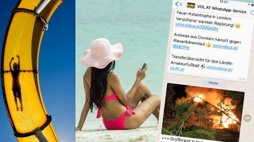 Schnell, kompakt und informativ: WhatsApp-Service für den Urlaub