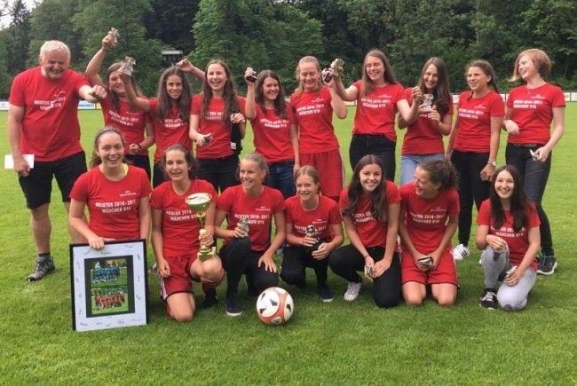Das U16 Meisterteam ist momentan das Aushängeschild der SPG Bregenzerwald.