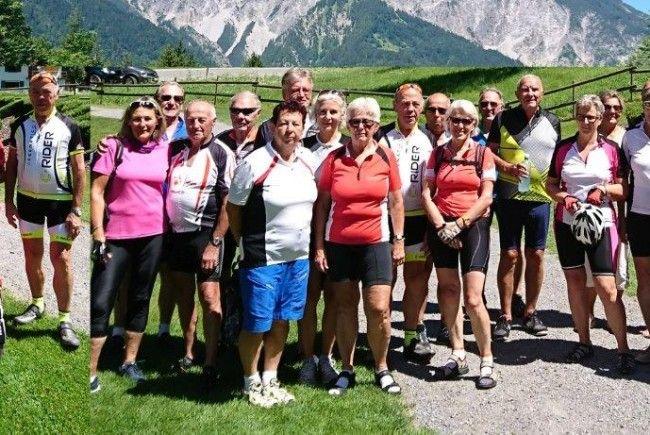 Radteam per pedales wieder im Montafon